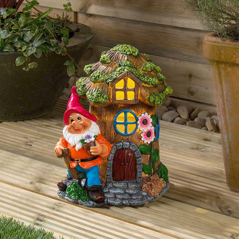 4pc Red Mushroom Garden Decoration Fairy Pixie Magic Toadstool Garden Ornament